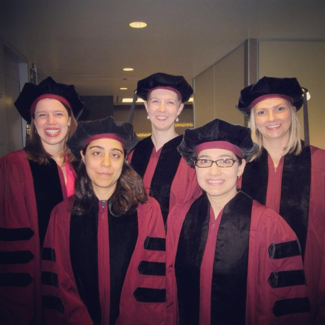 Photo of PhDs from Macleods lab
